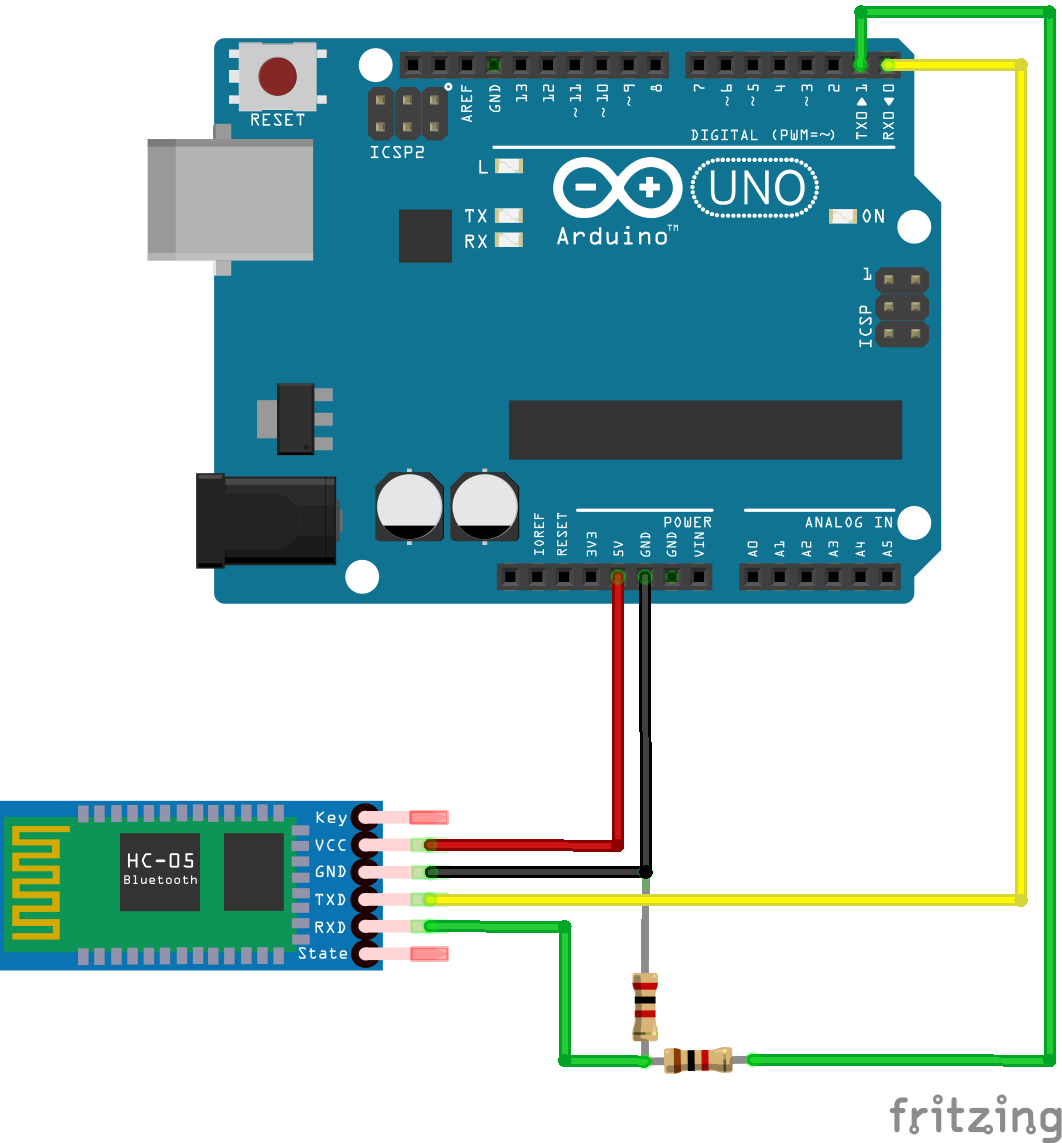 Connecting HC-08 to Arduino Uno